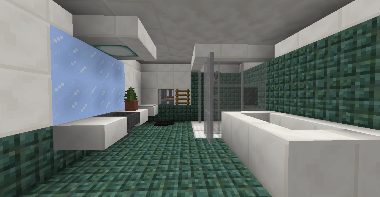 Bathroom Design Minecraft
