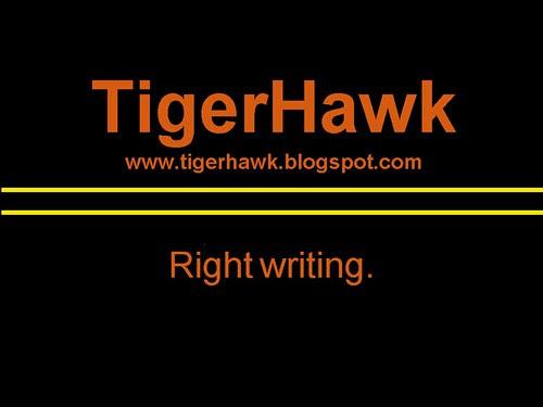 TigerHawk.  Right writing.