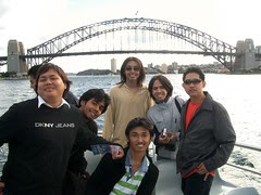 Sewaktu Captain Cook Cruise, Sydney, Australia