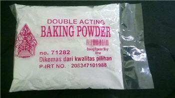 Baking Powder Fungsi Cara Mengolah Kerjanya