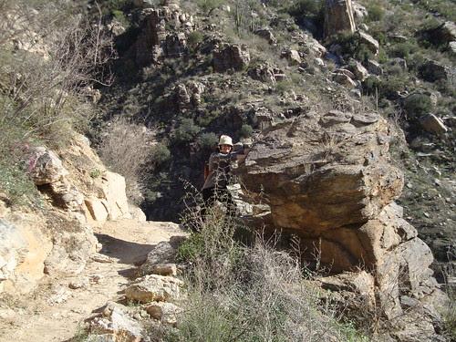 me at Sabino Canyon