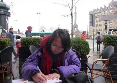 Hải Di, hình trong bài lấy từ trang blog của tác giả
