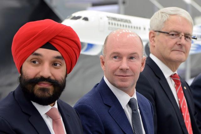 Le ministre fédéral de l'Innovation Navdeep Bains, le... (Paul Chiasson, PC)