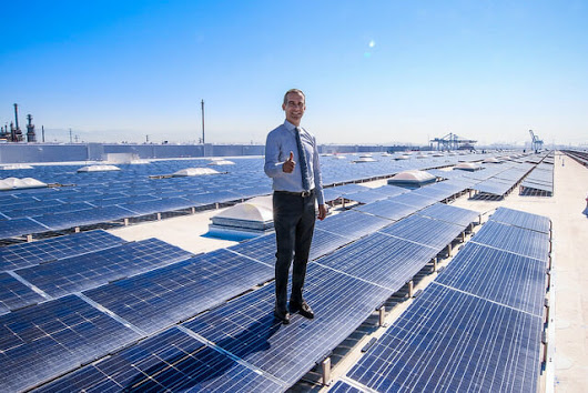 L.A. Mayor And Partners Mark Completion Of Massive Rooftop Solar Project - Solar Industry
