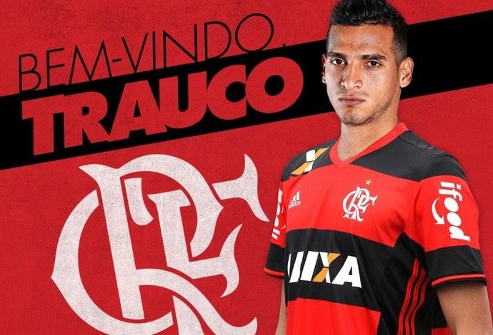 Trauco Flamengo (Foto: Reprodução/Twitter)