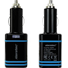 Aleratec 4.8 Amp Dual USB Car Charger for Smartphones and Tablets