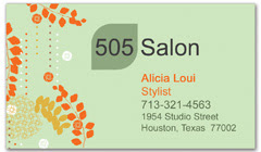BCS-1082 - salon business card