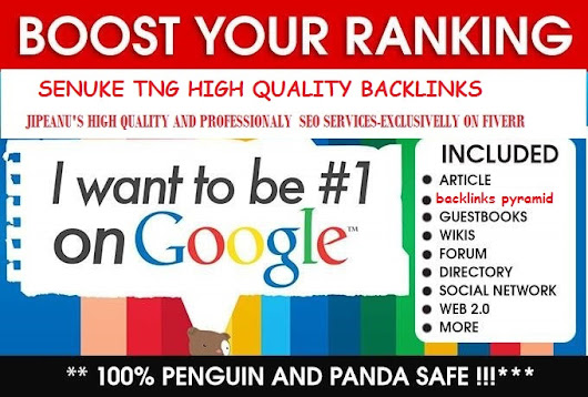 jipeanu : I will boost your rankings with best SEnuke TNG backlinks for $15 on www.fiverr.com