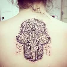 Tatuajes Mano De Fátima Con Elefantes Lamanodefatimanet