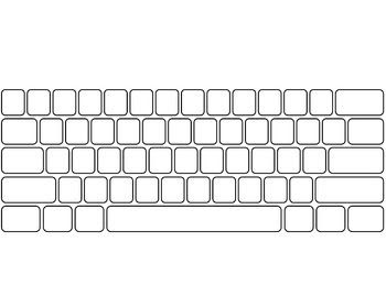 Editable Keyboard Template