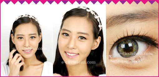 Neo 3 Color Gray Toric Contact Lenses for Astigmatism at www.e-circlelens.com