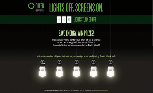 "NBCUniversal Launches ""Lights Off. Screens On"" Awareness Campaign"