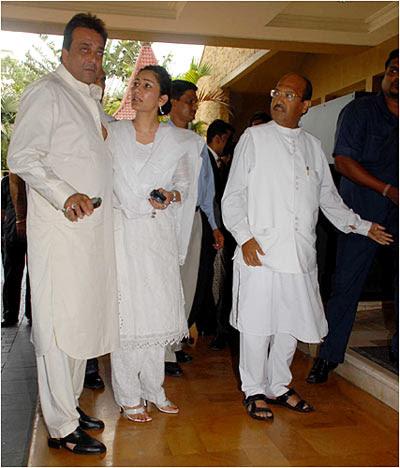 Sanjay Dutt, Manyata and Amar Singh