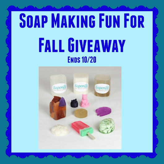 Soap Making Fun #Giveaway! ~ Freebies Deals & Steals