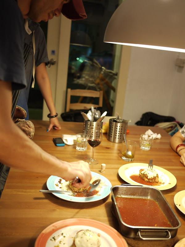 茄汁豬肉漢堡排
