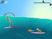 Jogar Surf or sink Jogos