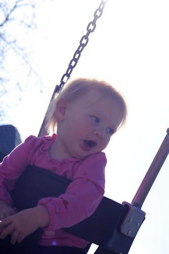 Mama & P at the park Jan 2012 1