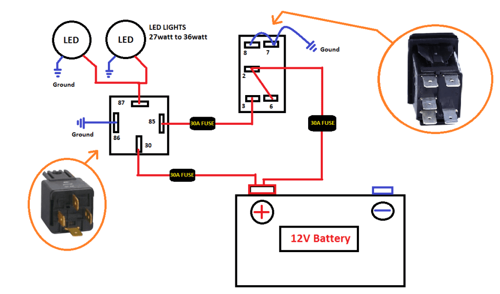 Wiring Diagram For Led Light Switch