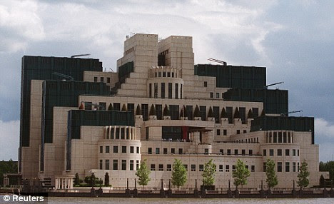 Spy central: The MI5 headquarters near Vauxhall Cross on the River Thames