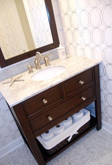 Costco Vanity - Contemporary - bathroom