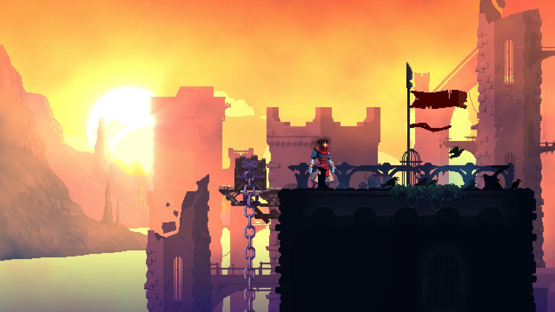 Dead Cells update brings a new biome, monsters, and weapons screenshot