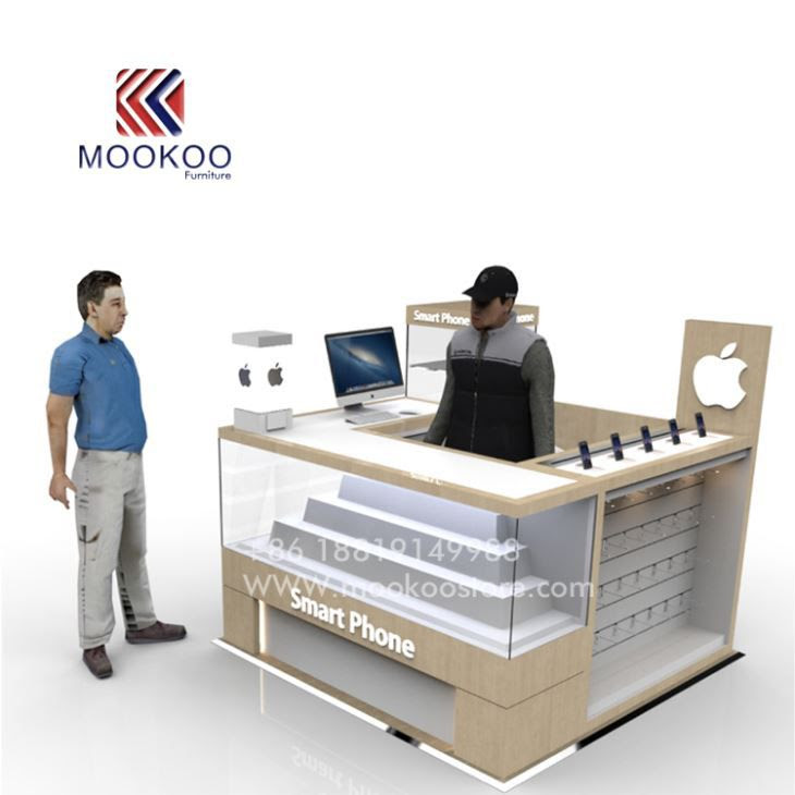 China Customized Mobile Shop Counter Furniture Design Manufacturers