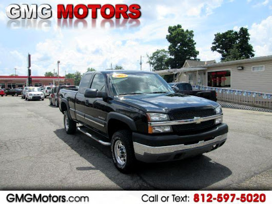Buy Here Pay Here 2004 Chevrolet Silverado 2500HD LT Ext. Cab Short Bed 4WD for Sale in Morgantown IN 46160 GMG Motors Morgantown