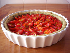 torta de tomate cereja