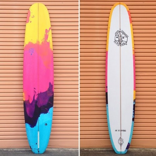AUCTION NOW ON….check my Instagram and bid on this Beautiful 9'6 Crystal Crooooser by @deadkooks with art by #steviegee with all proceeds to @savethekimberley
