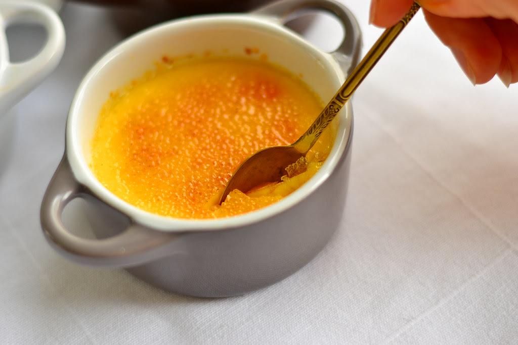 créme brulée with passionfruit 3