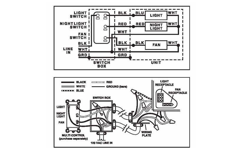 Broan Wiring Diagram