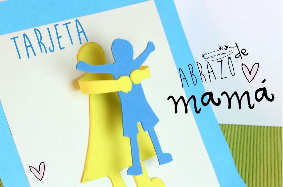 Tarjeta Del Dia De La Madre En 3d Actividades Para Ninos