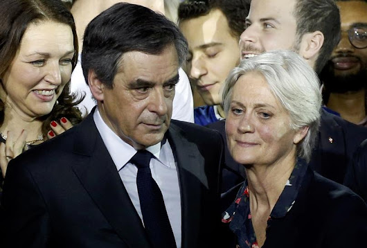 Wife of French presidential candidate Fillon held for questioning : report