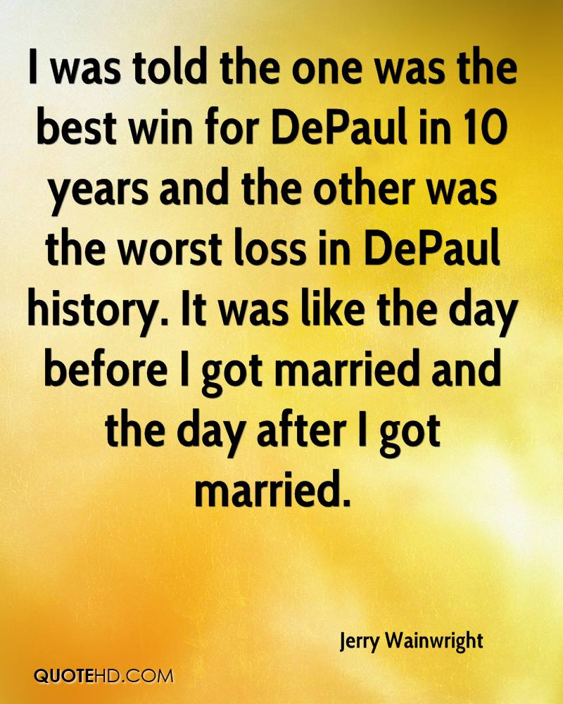 Jerry Wainwright Marriage Quotes Quotehd