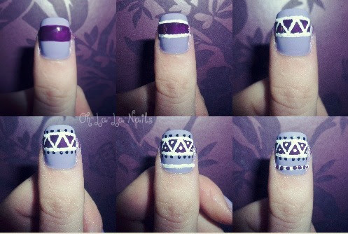 How to: Aztec/Tribal Nails!Yaaay I love aztec print! & now you can all achieve aztec print nails with this quick tutorial :D  Enjoy! oxox Beth.