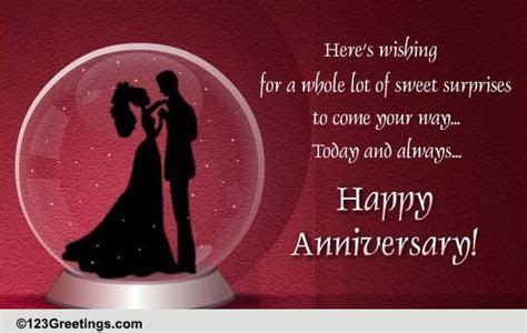 On Wedding Anniversary! Free Gifts eCards, Greeting Cards