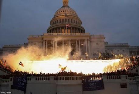 """""""Cách mạng màu""""- chiêu bài cia Mỹ đã áp dụng ở nhiều nước đang """"vận"""" vào chính nước Mỹ!"""
