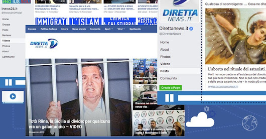 One Of The Biggest Alternative Media Networks In Italy Is Spreading Anti-Immigrant News And Misinformation On Facebook
