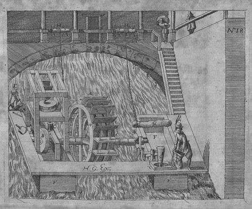 Heinrich Zeising - Theatri machinarum Erster - 1613 p