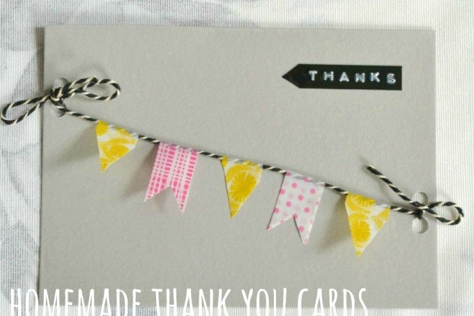 Homemade Thank You Card Ideas Archives Decorators Notebook