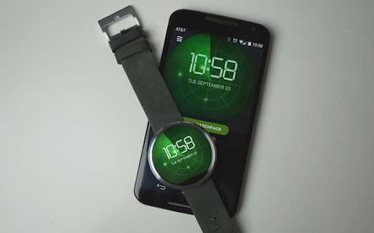 Android Wear And Its Customized Watch Faces