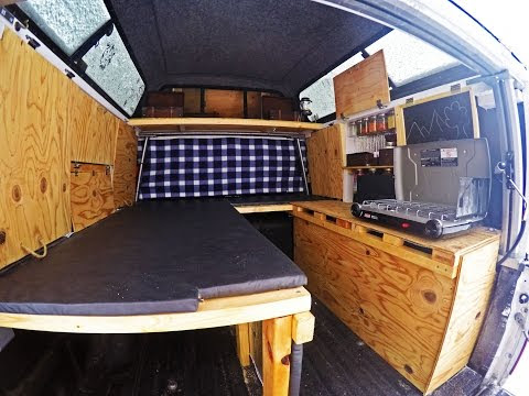 Turning Your Truck Into A Mini Home