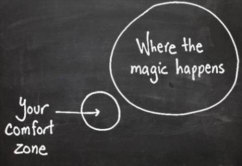 Afbeeldingsresultaat voor comfort zone quotes