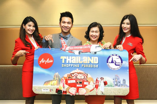AirAsia joins with TAT for 'shopping paradise' campaign