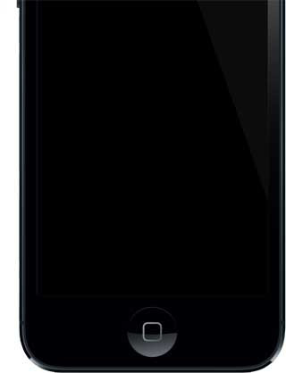 Is iPhone 5 comes as Port home from sapphire crystal?