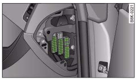 Audi A4 B8 2007 To 2015 Fuses List And Amperage