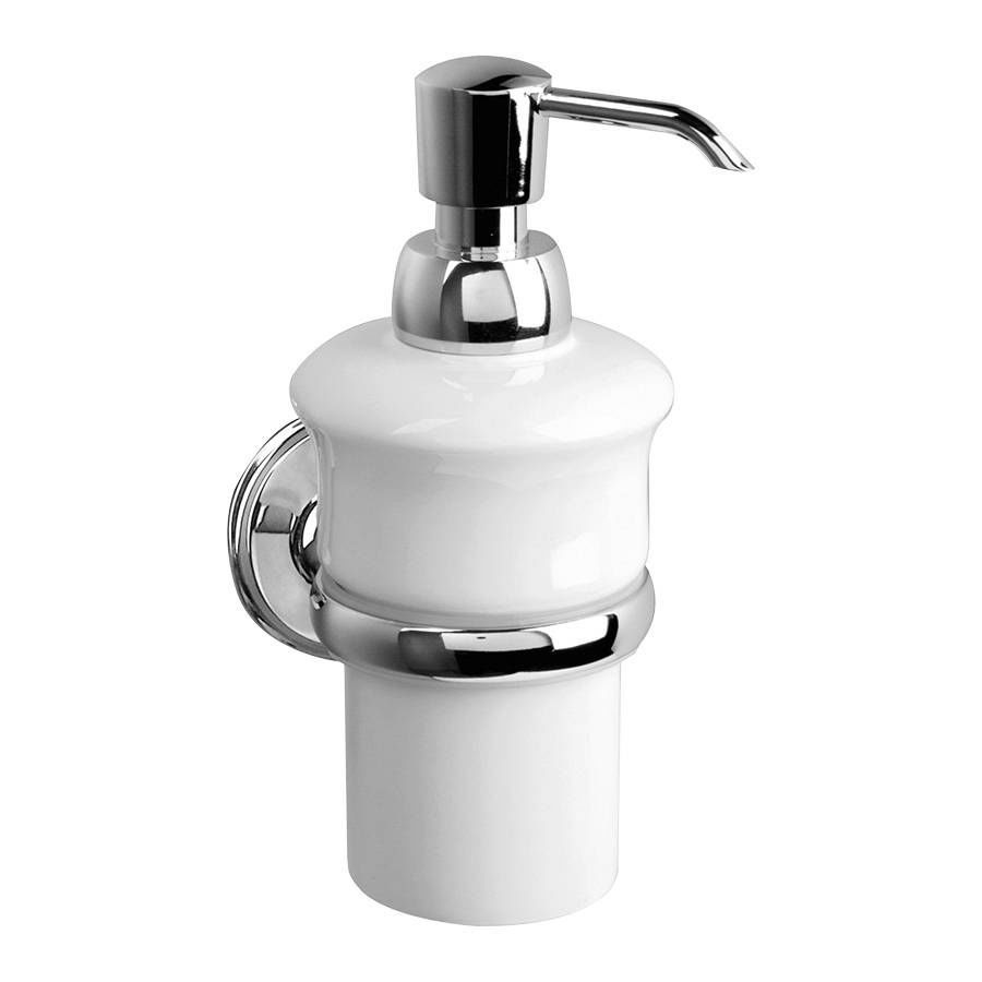 Commercial Soap Dispenser Wall Mounted Porcelain Manual
