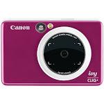 Canon - IVY Cliq+ Instant Film Camera - Ruby Red