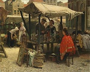 Pintura del siglo XIX: Theo Mesker. Bric-à-brac