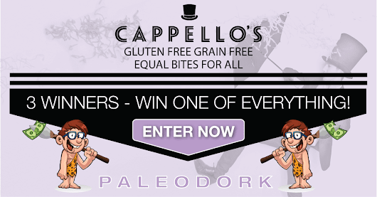 Cappello's Gluten Free Cookie Dough, Pizza & Pasta Giveaway